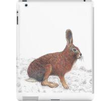 Brown Hare iPad Case/Skin