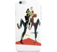 Zombie Greaser Couple Case iPhone Case/Skin