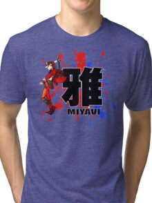 Red Mist Of Miyavi Tri-blend T-Shirt