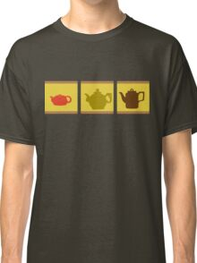 3 Chinese Teapots Classic T-Shirt