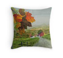 Maple Tree Farm Throw Pillow