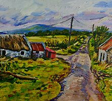 """""""Deserted Farm on the Magherabrack Road, County Tyrone."""" by Laura Butler"""