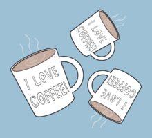 I Love Coffee Baby Tee