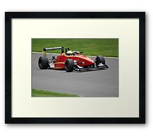 Chris Dittmann - Dallara F301 Framed Print
