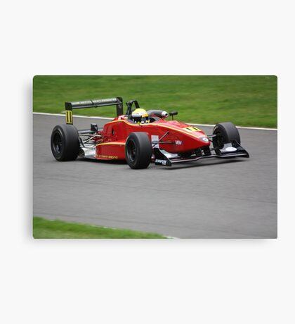 Chris Dittmann - Dallara F301 Canvas Print