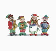 Santa's Band of Elves Baby Tee