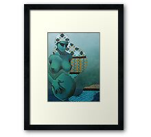 growing Framed Print