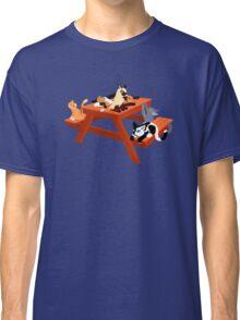 Picnic Cats Classic T-Shirt