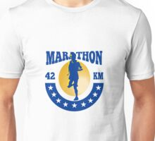 Marathon Runner Athlete Running Unisex T-Shirt