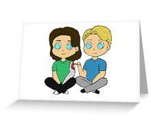 Stucky Greeting Card