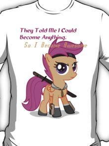 So I Became Awesome T-Shirt