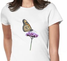 Monarch on mauve t-shirt/leggings/merchandise Womens Fitted T-Shirt