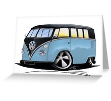VW Splitty (11 Window) H Greeting Card