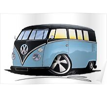 VW Splitty (11 Window) H Poster
