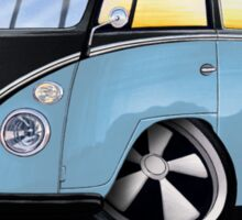 VW Splitty (11 Window) H Sticker