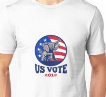 Republican Elephant Mascot USA Flag Vote Unisex T-Shirt