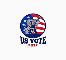 Republican Elephant Mascot USA Flag Vote Unisex T-Shirt