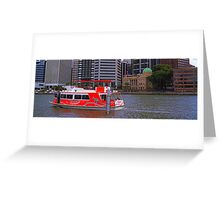 City Hopper Greeting Card