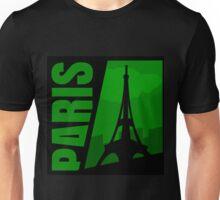 Paris Comic Style Unisex T-Shirt