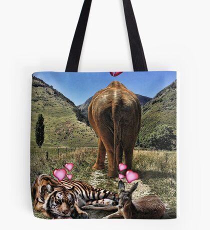 Girl Kangaroos are Fickle Tote Bag