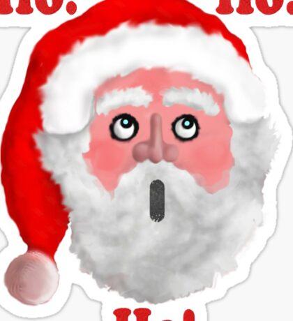 Ho!-Ho!-Ho! Sticker