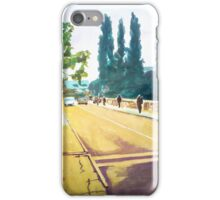 City bridge in spring iPhone Case/Skin