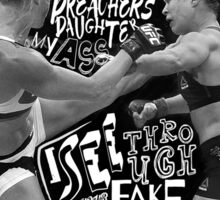 Ronda Rousey Got Rocked Sticker