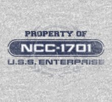 Property Of USS Enterprise by justinglen75
