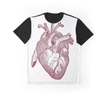 Anatomically Correct Heart Graphic T-Shirt