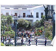 Plaza Grande. Poster