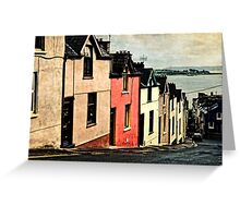 Colorful Houses Greeting Card