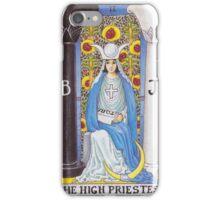 Tarot Card - The High Priestess iPhone Case/Skin