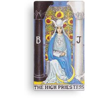 Tarot Card - The High Priestess Metal Print