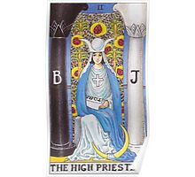Tarot Card - The High Priestess Poster