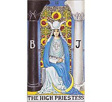 Tarot Card - The High Priestess Photographic Print