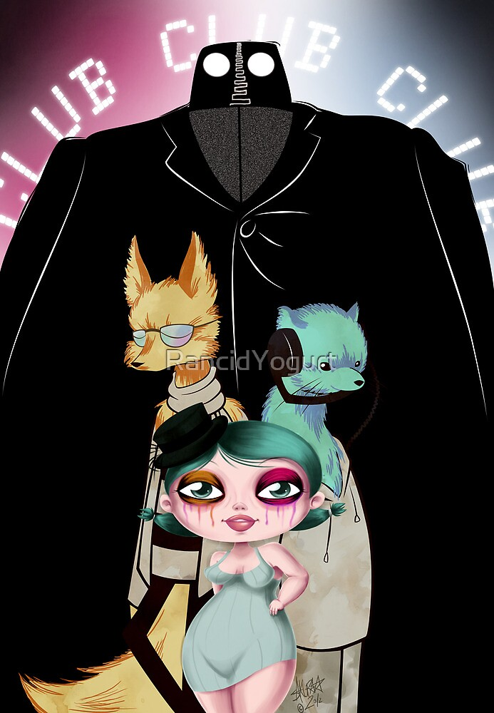 Ode to the Bouncer by RancidYogurt