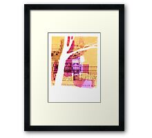 Parliament Place, Melbourne Framed Print