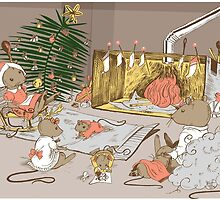 A Very Mousy Christmas Card by SimplyKitt