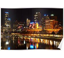0833 City at Night 2 Poster