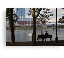 A Perfect Evening Out - Covington Kentucky Canvas Print