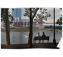 A Perfect Evening Out - Covington Kentucky Poster