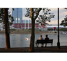 A Perfect Evening Out - Covington Kentucky Photographic Print
