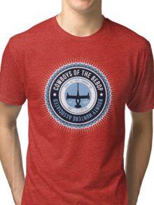 Spaces Cowboys Tri-blend T-Shirt