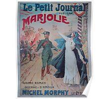 Le Petit journal publiera Marjolie par Michel Morphy le 2 septembre Poster
