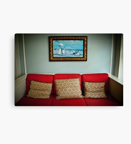 The Comforts Of Canvas Print