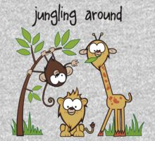"""Jungling Around"" Kids Tee"