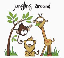 """Jungling Around"" Baby Tee"