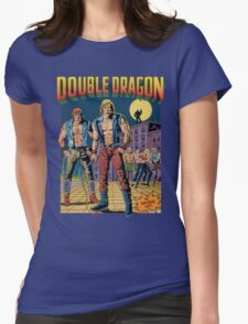 Double Dragon Womens Fitted T-Shirt
