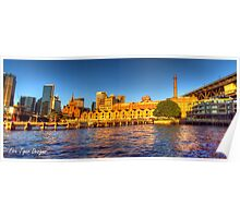 Campbell's Cove Panorama + HDR Poster