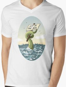 GET IN THE SEA!  Mens V-Neck T-Shirt